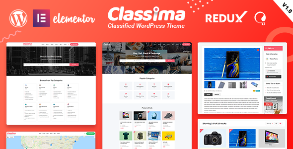 Download] Classima Classified Ads WordPress Theme - scriptenvato ...