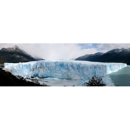 The Perito Moreno Glacier in Los Glaciares National Park Argentina Canvas Art - Luis ArgerichStocktrek Images (25 x 8)