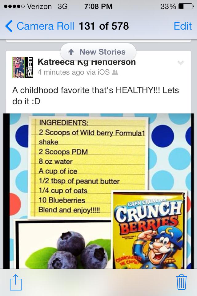 Captain Crunch Herbalife shake   Herbalife recipes   Pinterest ...