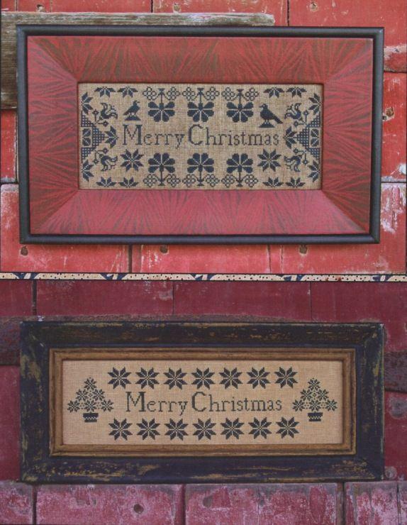 (3) Gallery.ru / Фото #1 - Quaker Christmas Samplers - Skipmate