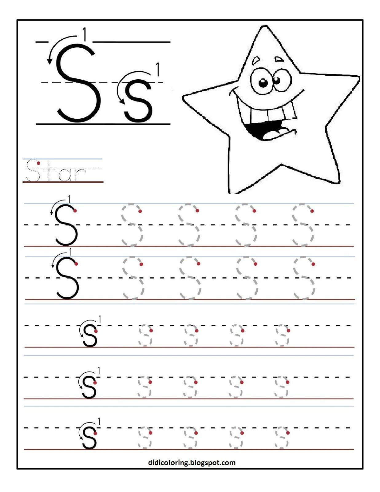 How To Write Letter S