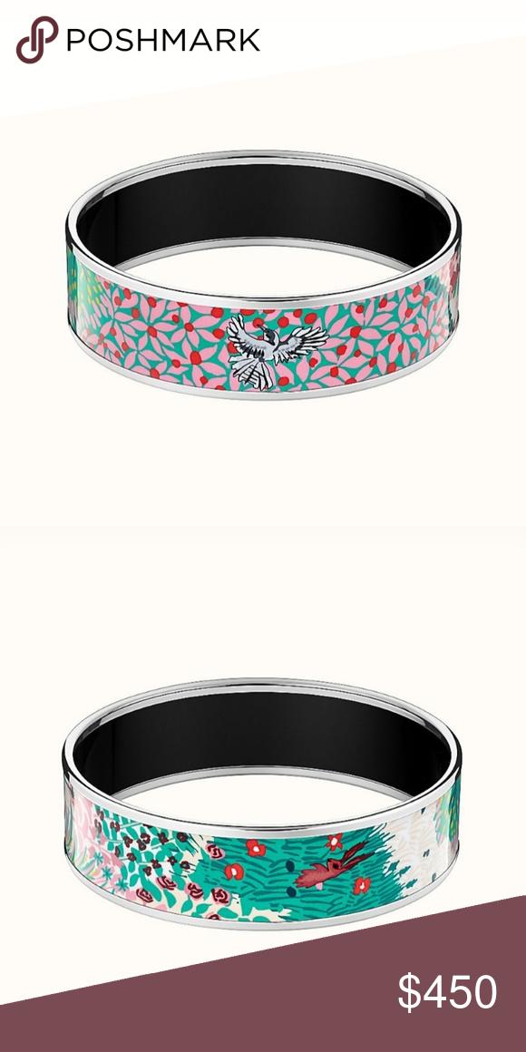 Dans Un Jardin Anglais Bangle Hermes Jewelry Bracelet Hermes Bangle Bangles