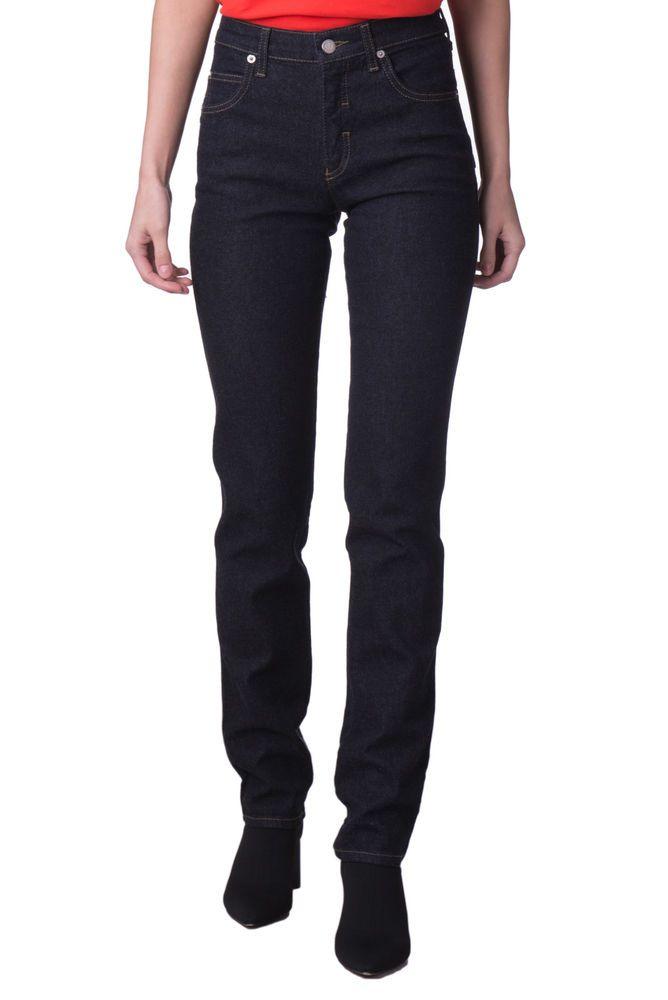 6f7497c651 ARMANI JEANS Dark Blue Jeans Size 26 Stretch High Waist Carrot Leg ...