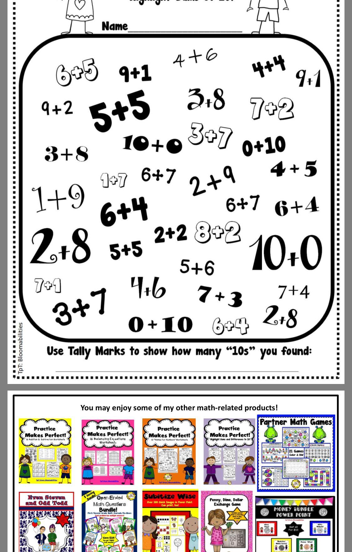 Pin By Teresa Miller On First Grade Math