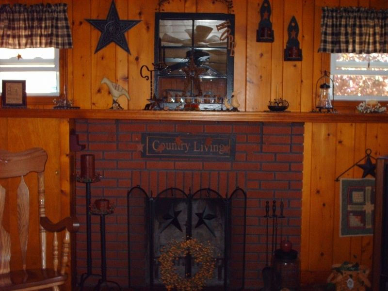 Primitive fireplace | Primitive Fireplace-#2 | For the Home ...