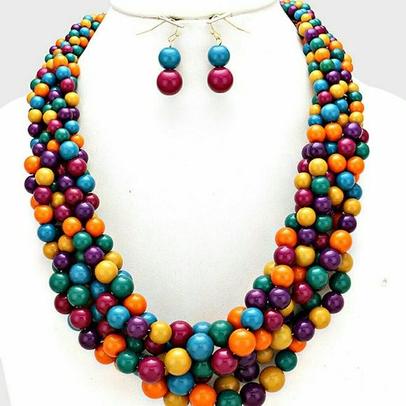 Cluster Statement Necklace Bubble Cluster Statement Necklace Jewelry Necklaces