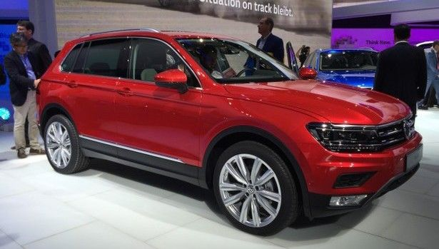 2017 volkswagen tiguan exterior volkswagen pinterest. Black Bedroom Furniture Sets. Home Design Ideas