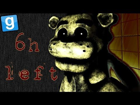 Five Nights at Freddy's Gmod (FNAF MAP - Gamemode Garry's