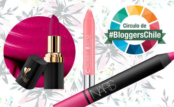 Evento #BloggersChile, labiales de verano