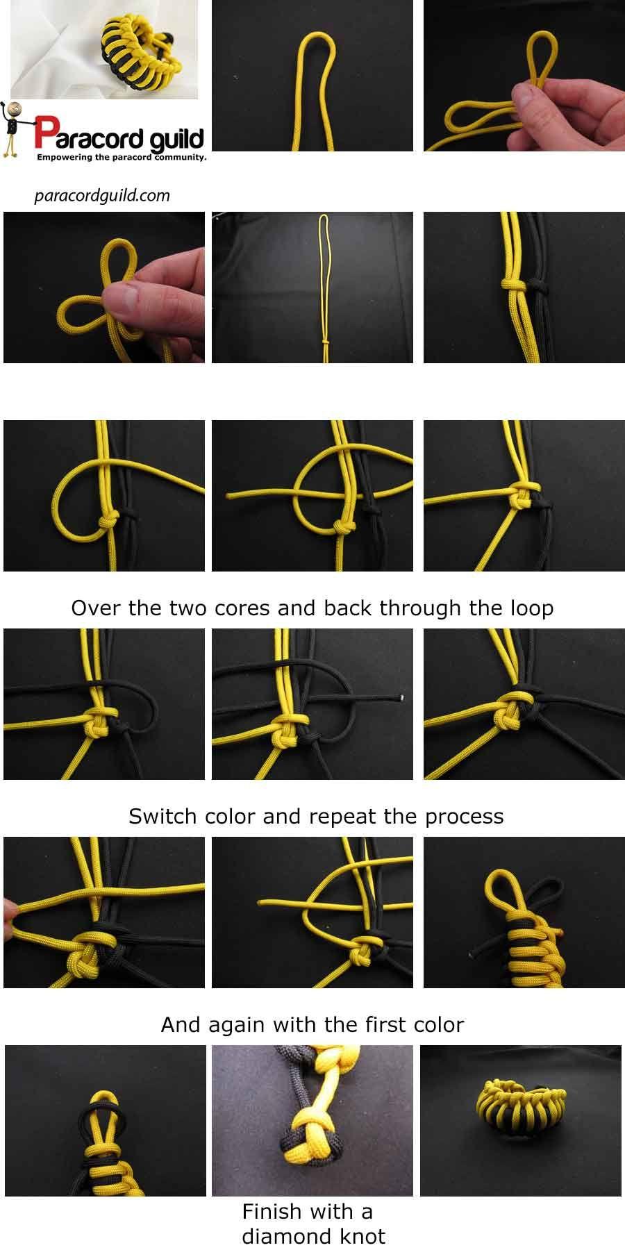 Milipede Paracord Bracelet Instructions Paracord Pinterest