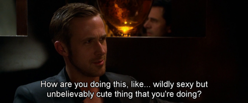 Ryan Gosling. Crazy Stupid Love. Best kids movie I have ...