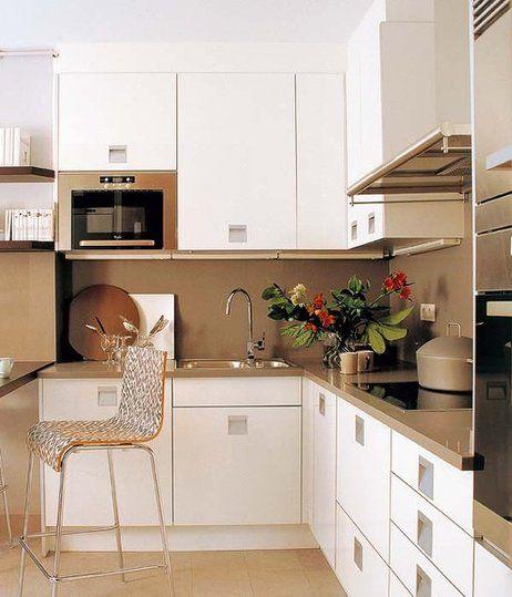 Resultado de imagen para cocinas en l peque as cocina - Cocinas pequenas en l ...