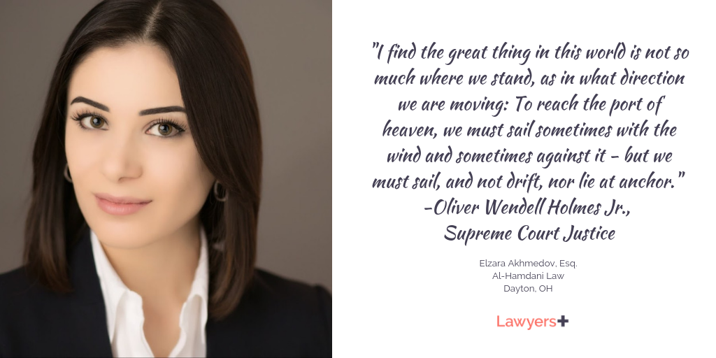 Elzara Akhmedov Esq Is An Admitted Attorney In The State Of