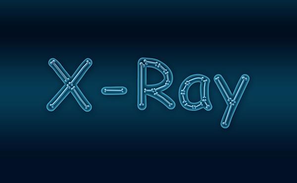 Membuat Teks Efek X Ray Di Photoshop
