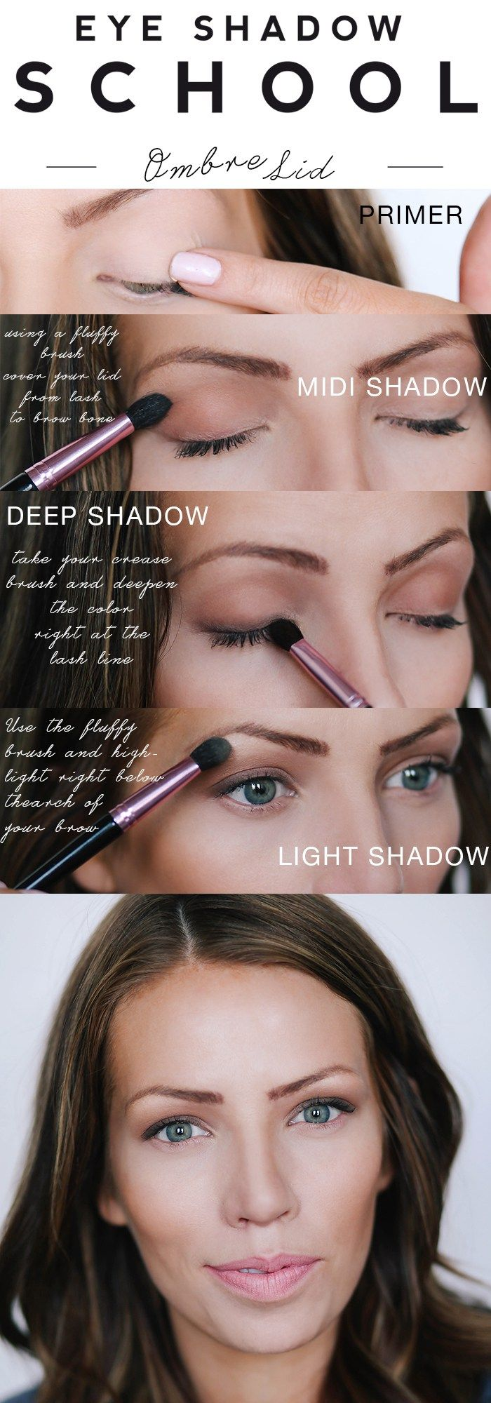 Every Eyeshadow technique simplified! So awesome! Makeup