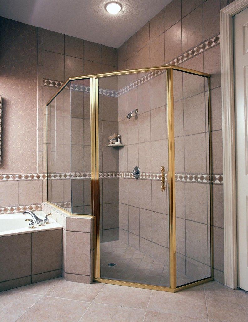 """8/"""" Square Tube Style Frameless Shower Door Handle"""