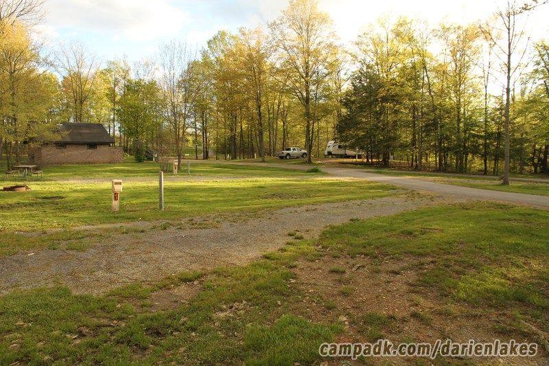 Darien Lakes State Park Campsite Photos Site 43 in 2020