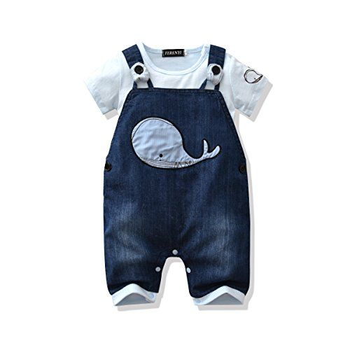 Lvyinli Us Baby Boy Clothes Boys Romper Jumpsuit Overalls Stripe Rompers Sets 7 12 Months Blue 3 Cute Baby Boy Outfits Baby Boy Outfits Baby Boy Overalls