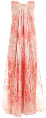 Alexander McQueen Anemone-print dress