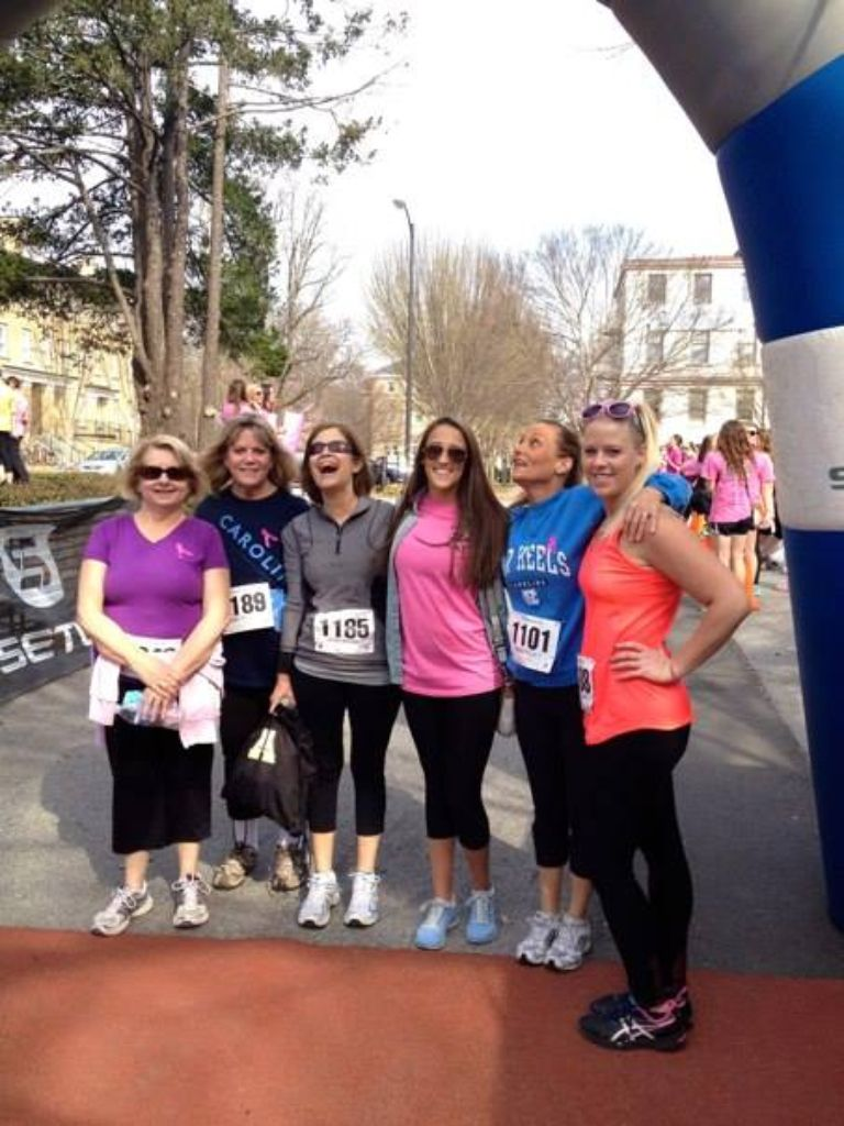 Zeta 5k on Franklin  Street ... Mar 22, 2014
