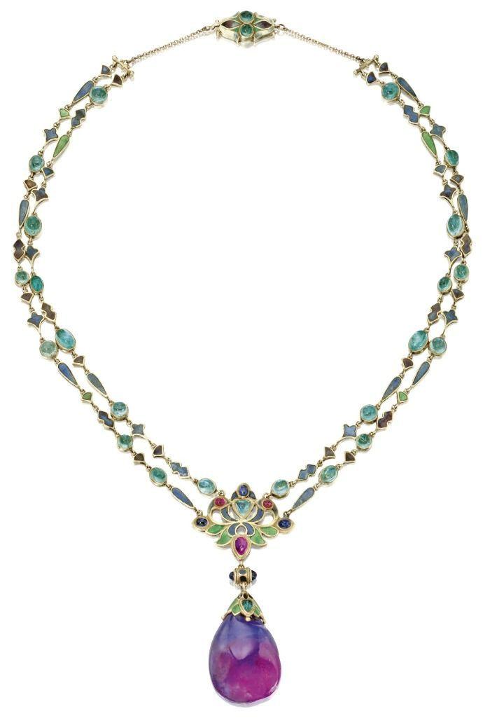 3 Jewellery News Art Nouveau Necklaces Art Nouveau Jewelry Tiffany Jewelry