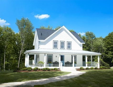 small farm house plans from the perfect little house company are designed to grow with you - Perfect Little House Plans