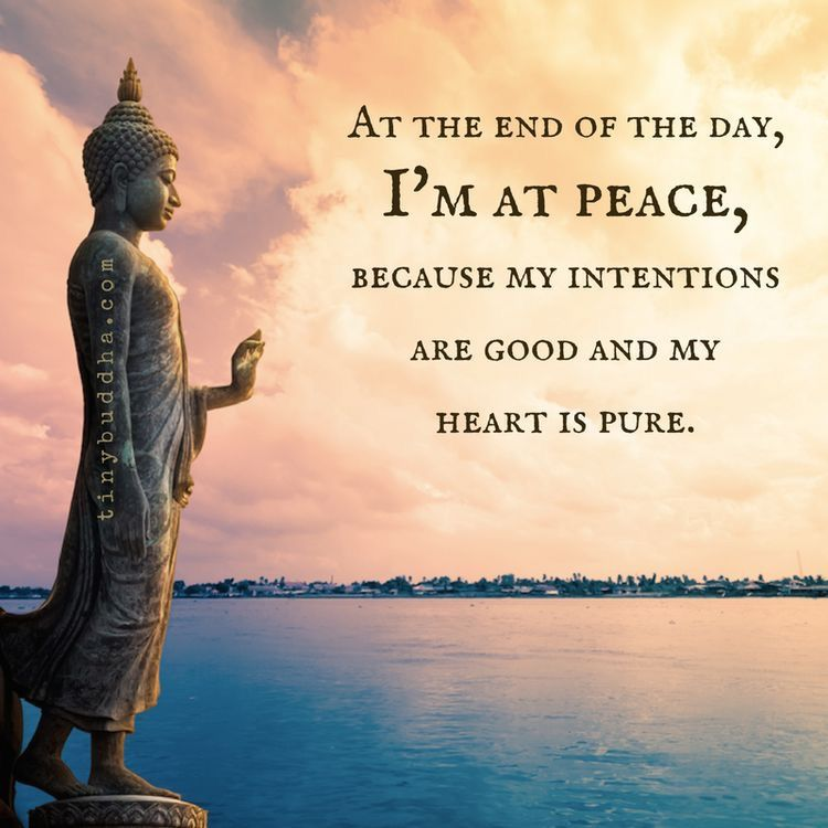 THIS (times ten million or INFINITY). My SOUL is at peace & that's more  than all the money & control in the wor… | Buddhism quote, Buddhist quotes,  Spiritual quotes