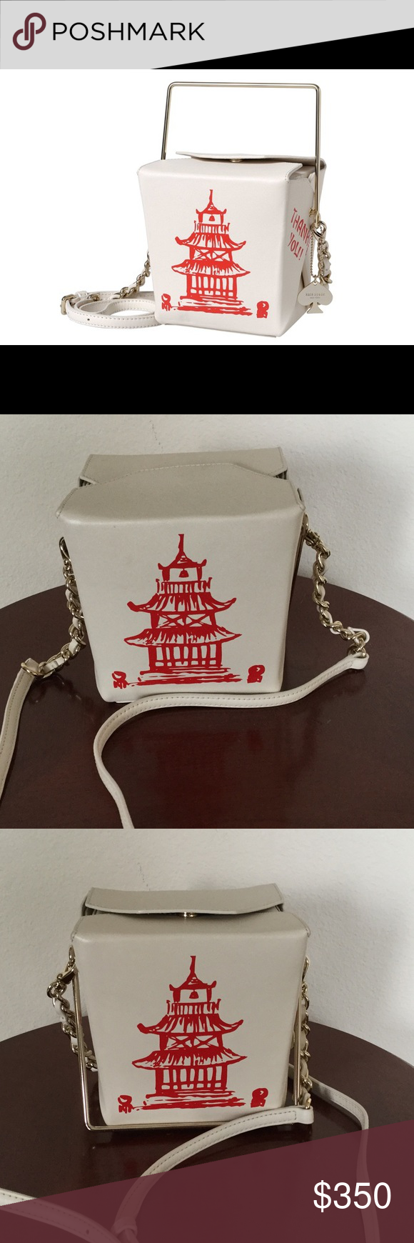 6d8b5325c98 Kate Spade Chinese Takeout Box Bag RARE - Gently loved, excellent  condition,