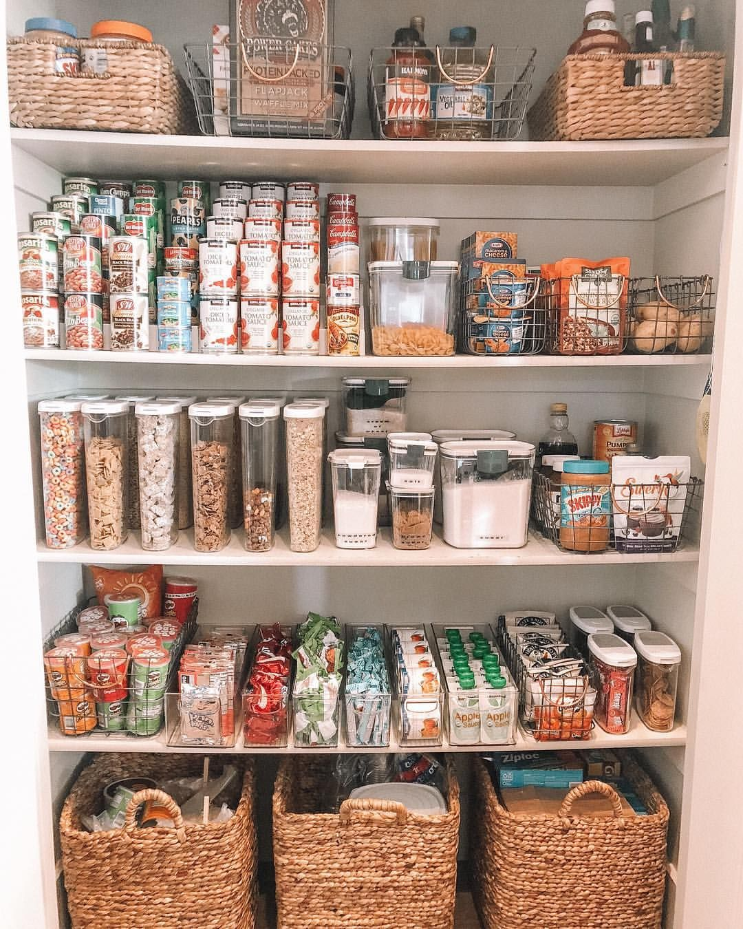 swipe for a stunning before and after of our client s pantry we love helping others cre on kitchen organization before and after id=84728