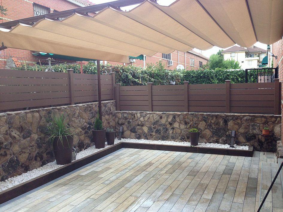 Vallados de madera valla de madera clelia x cm vallado - Vallas de madera para piscinas ...