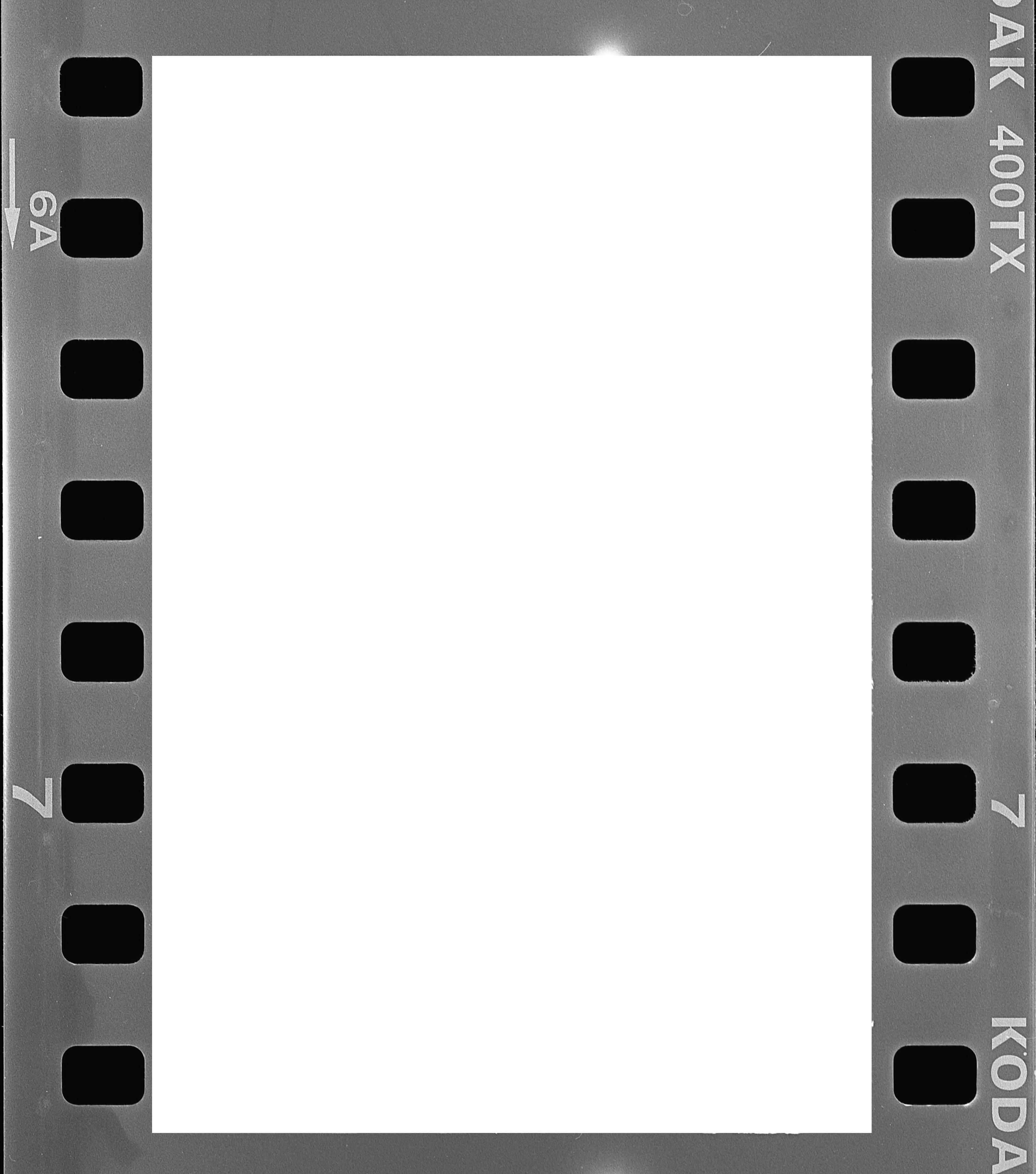 Kodak Tri X Film Border Graphic Design Overlays Border