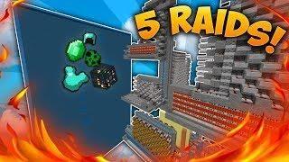 RAIDING TOP FACTION DDOSSED Minecraft Factions District - Minecraft factions spielen