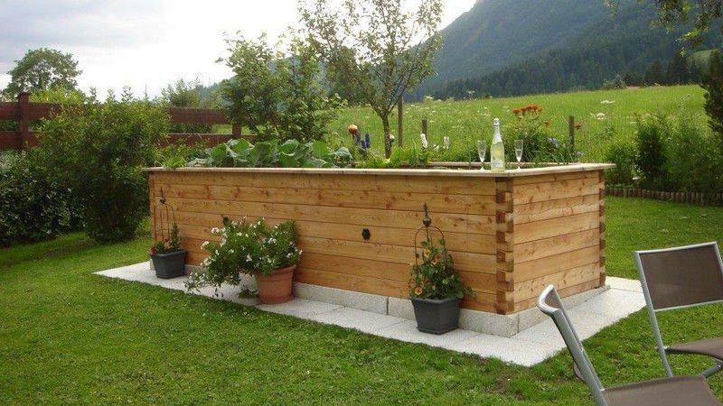 Hochbeet Extravagant Larchen Holz 70mm Wandstarke 250x125x85cm Ebay Hochbeet Garten Und Outdoor Outdoor Dekorationen
