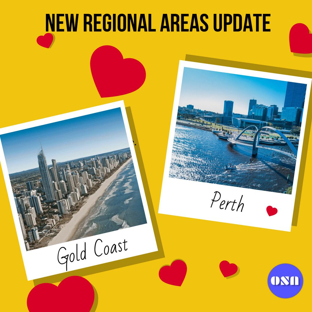 If You Haven T Checked The Update Yet Perth And Gold Coast Will Be Considered As Regional Areas University Of South Australia Australia Information Australia