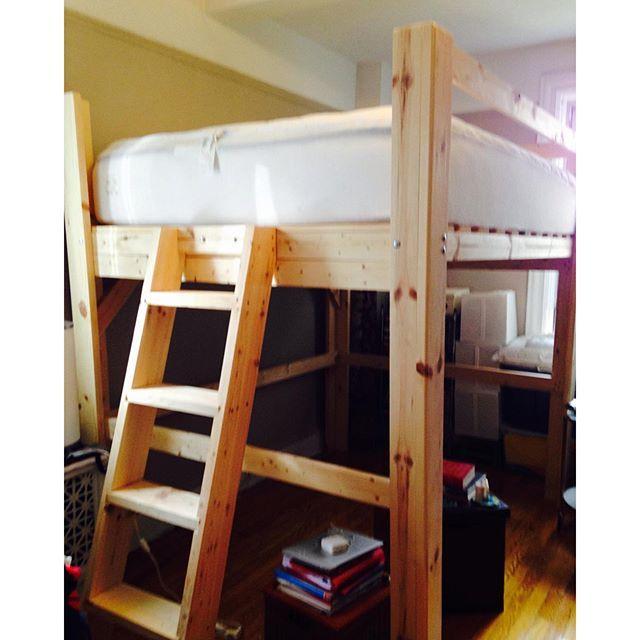 Chicago Loft Loft Bed Nyc Queen King Twin Bunk Kit Loft