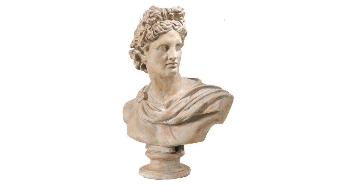 31 Dramatic Bust Cream Statue Art Sculptures