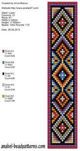 beaded hat band patterns free - Google Search