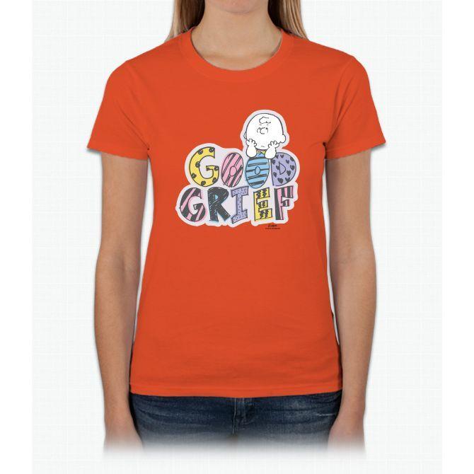 Charlie Brown Good Grief Ladies T-Shirt