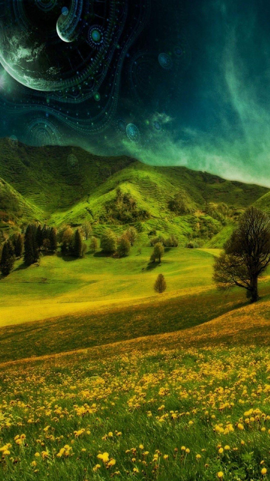 Nature Hill Grassland Landscape Iphone 6 Plus Wallpaper S5 Wallpaper Samsung Galaxy Wallpaper Iphone 6 Plus Wallpaper