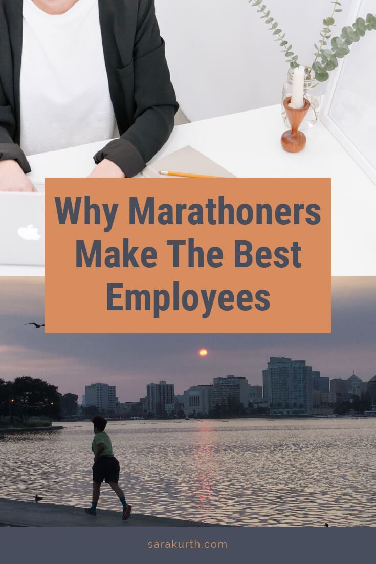 Training for a marathon does more than increase our lung capacity. It teaches important lessons we can use in our personal and professional lives. #running #marathontraining #marathoner