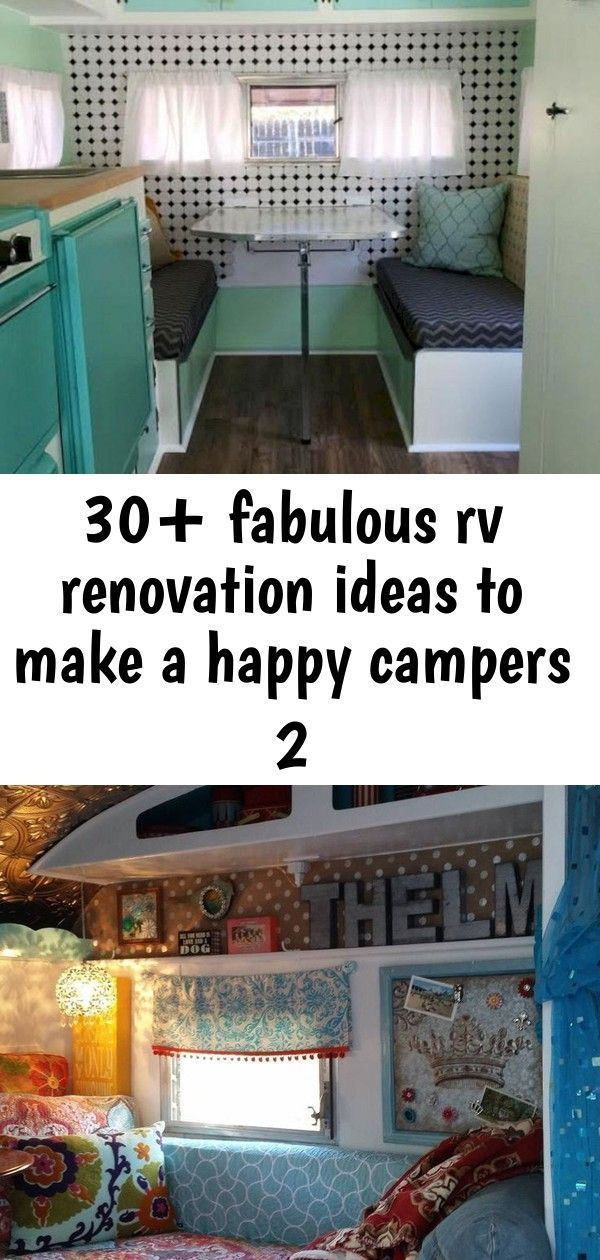 Stylish 30+ Fabulous RV Renovation Ideas To Make A Happy Campers Vintage Viscount Caravan Ideas