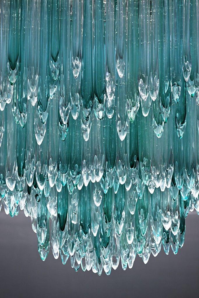 0cc7b7a25 Tiffany & Co. Bellavita Store - Glass Chandelier - Lasvit | J' Decor ...