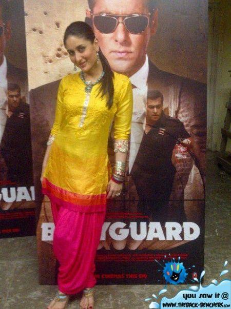 Kareena Kapoor Suits Bodyguard Wallpaper Bodyguard Movie