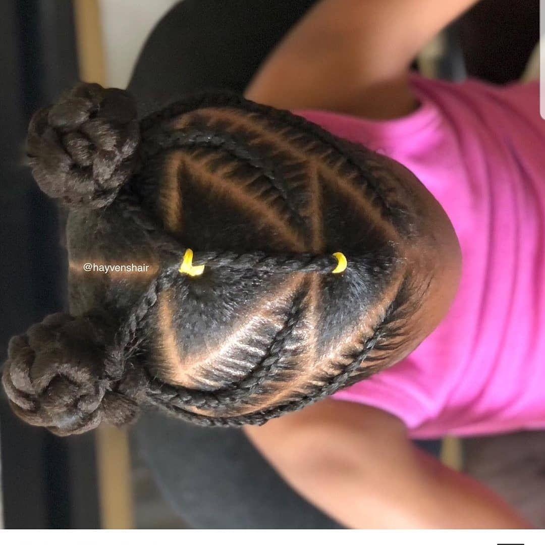 "#kidshairstyles #kidsbraids on Instagram: ""FEATURED @hayvenshair FOLLOW @kissegirl💋Beauty Brand💋Hair, Skin, & Nails . . .  #browngirlshair #cutekidsbraids #braidsfordays #braidsgang…"""