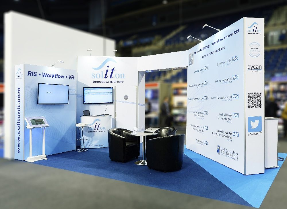 Exhibition Stand Information : Custom impact with self build convenience is always a