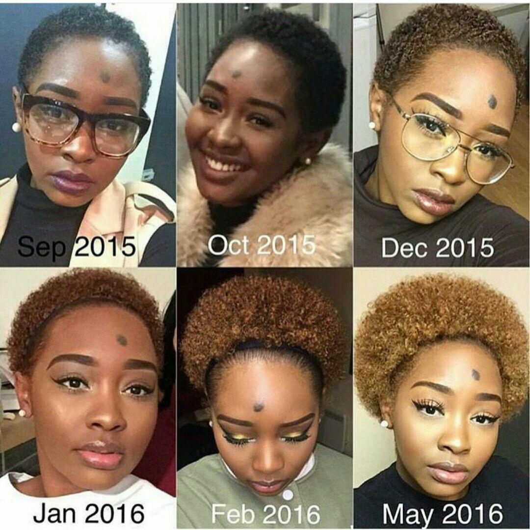 8 Months Of Natural Hair Growth Hair Growth Stages Natural Hair Journey Growth Natural Hair Styles