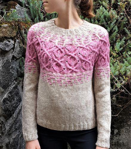 Aguacero Sweater Pattern By Valentina Bogdanova In 2020