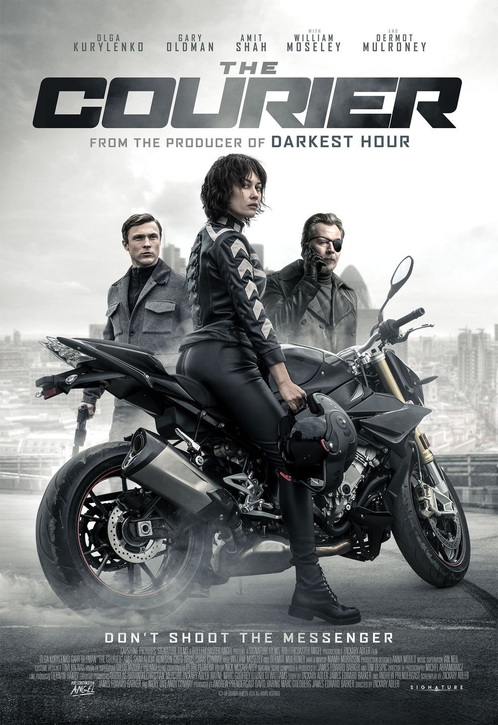 The Courier English Movies William Moseley Full Movies