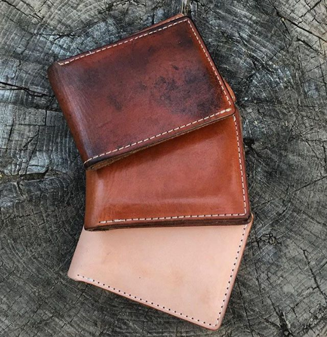 The Beautiful Patina Of Natural Vegetable Tanned Leather