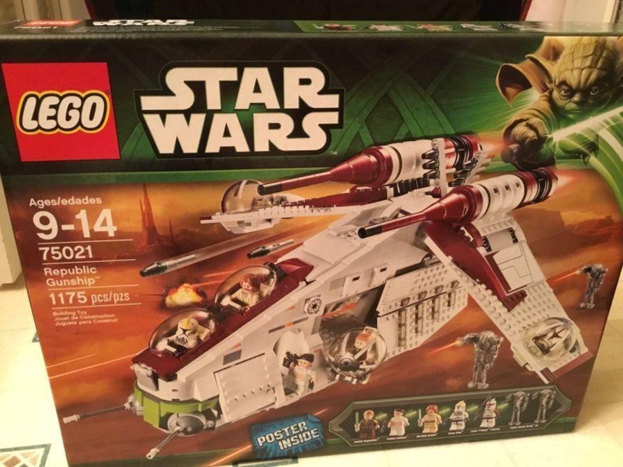Star Wars Mattel  Hot Wheels Republic Gunship   NEU /& OVP